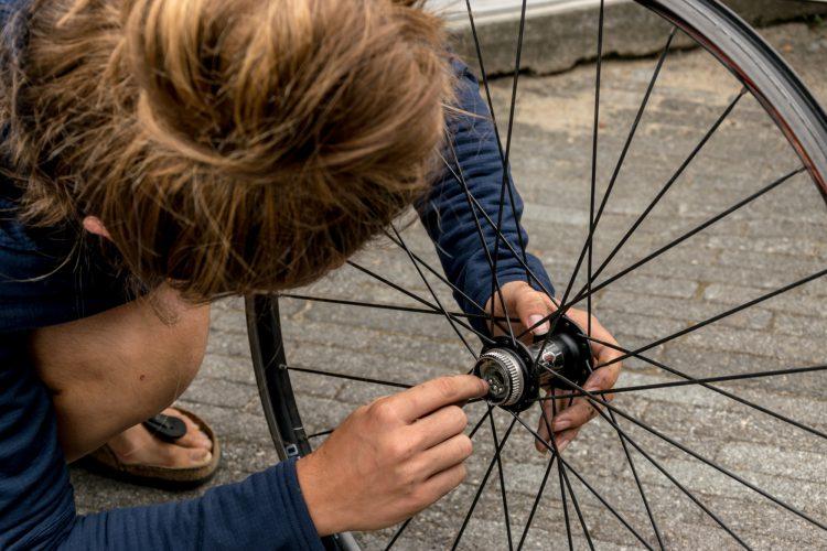 gereedschap en materiaal fietsen