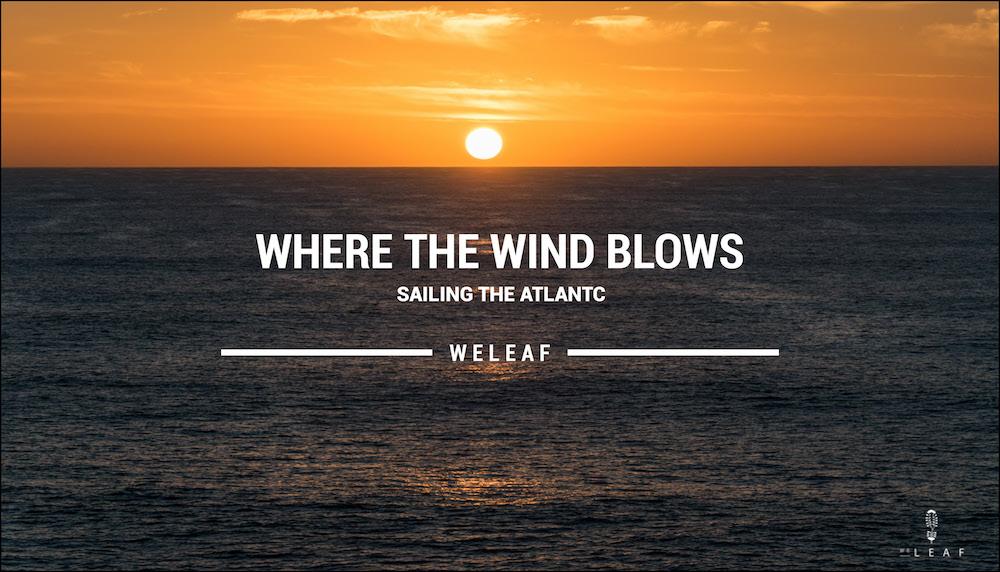 Sailing the Atlantic video
