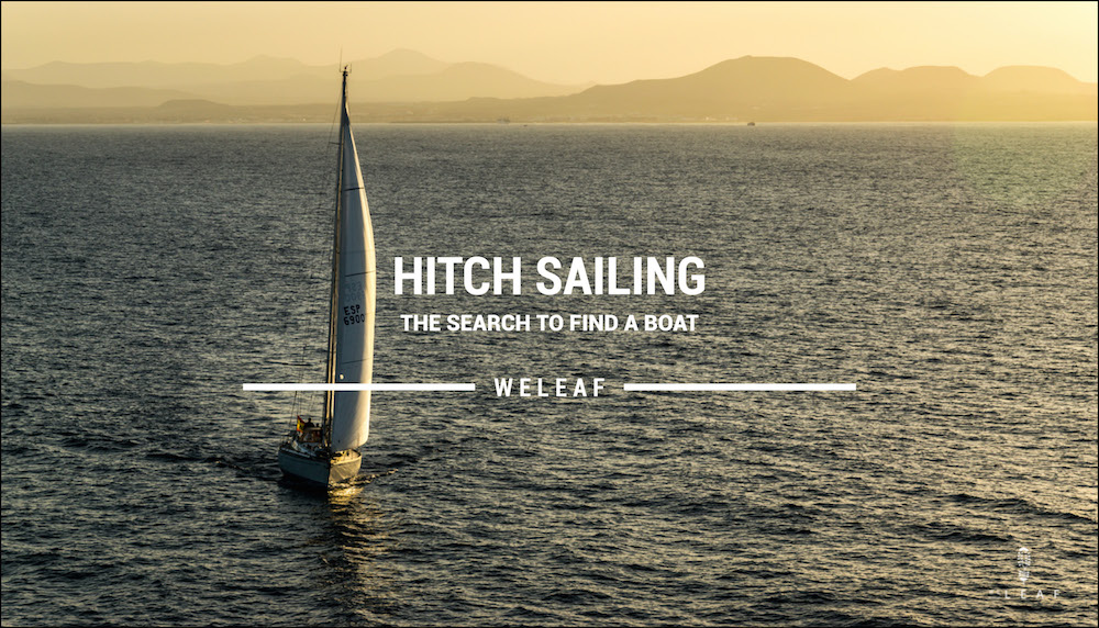 Hitchhiking on a sailing boat video
