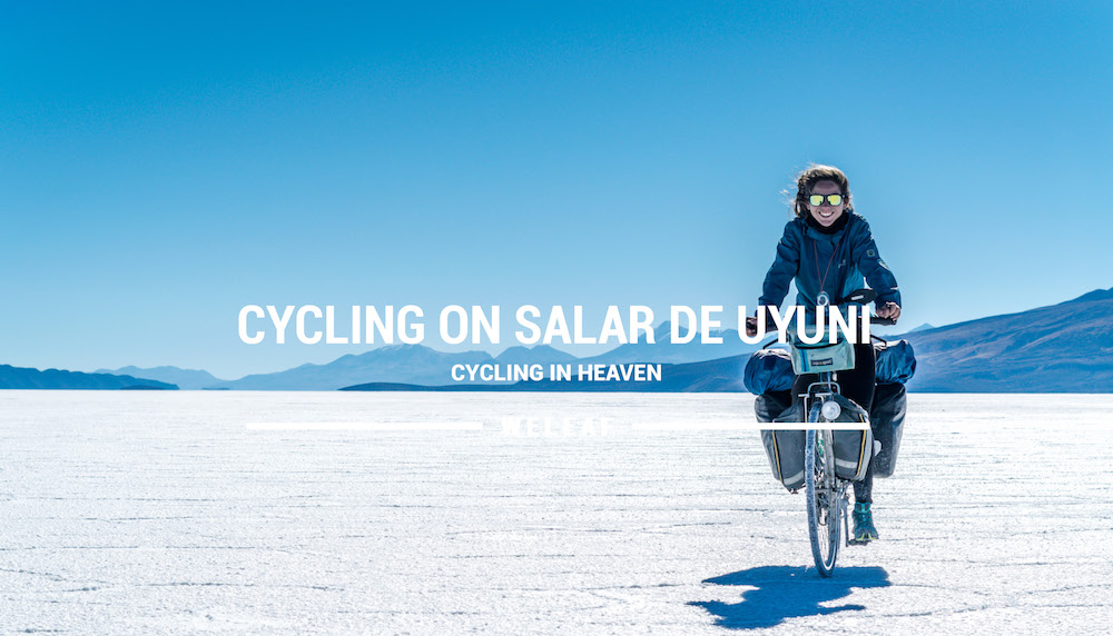 Cycling Salar de Uyuni video