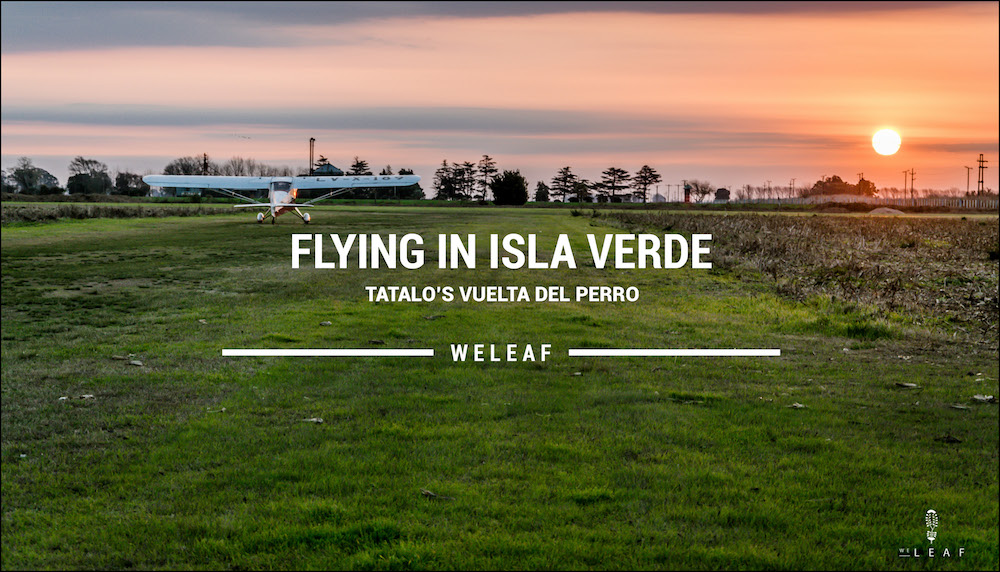 Flying in a cesna video