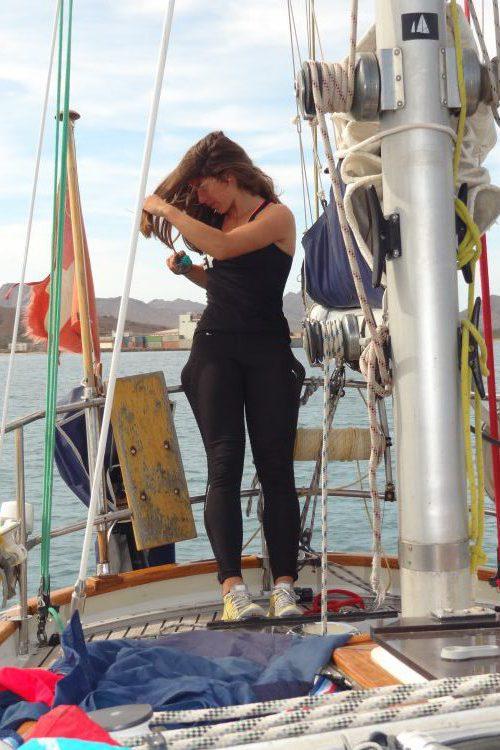Captured on the Atlantic