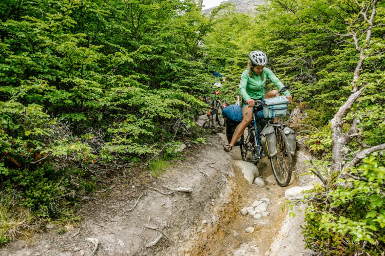 Bicycle touring pack list