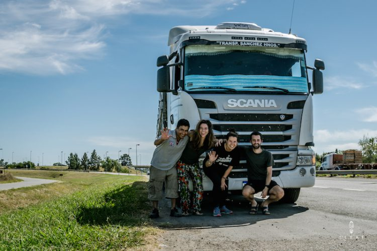 Hitchhiking to Buenos Aires