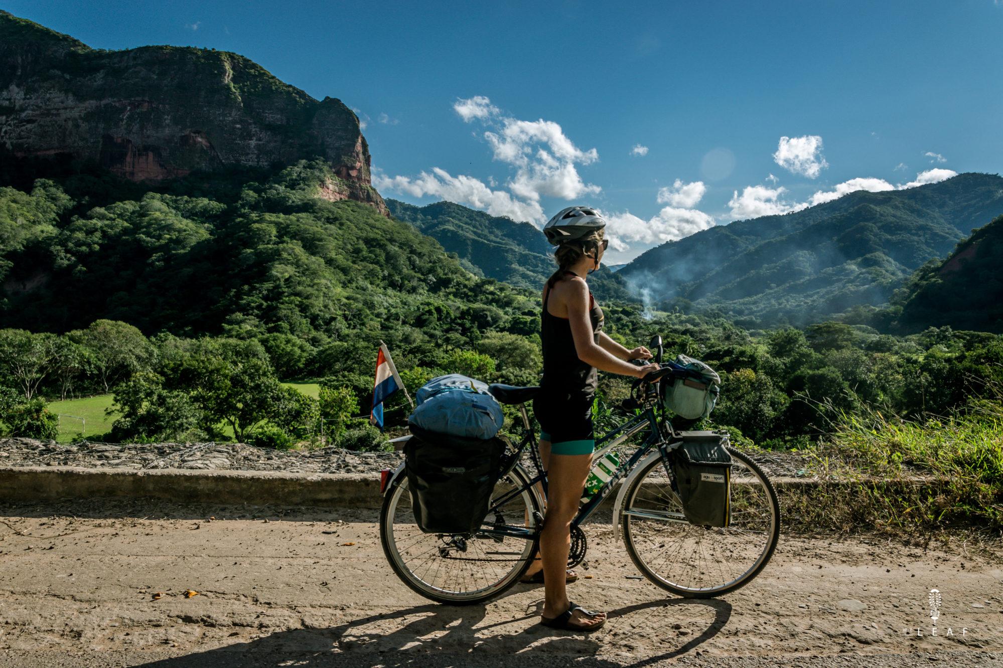 Fietsen in Bolivia