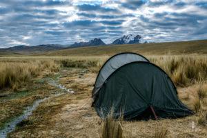 Camping in the Cordillera Blanca