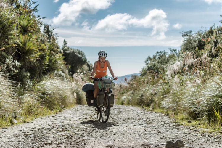Cycling through Reserva Ecologica El Angel