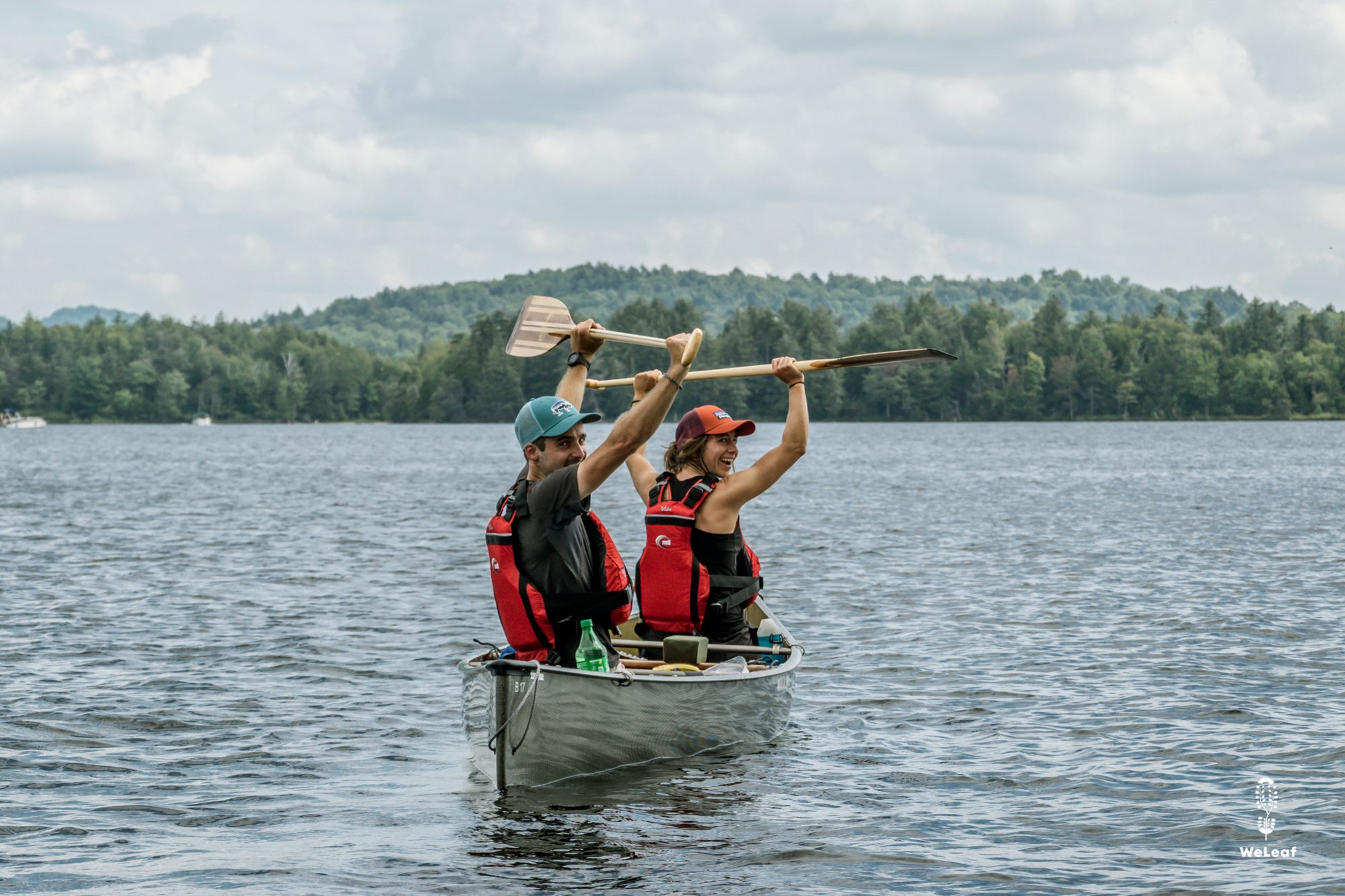 paddling on the northern forest canoe trail