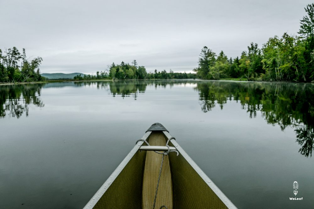 The canoe parcours