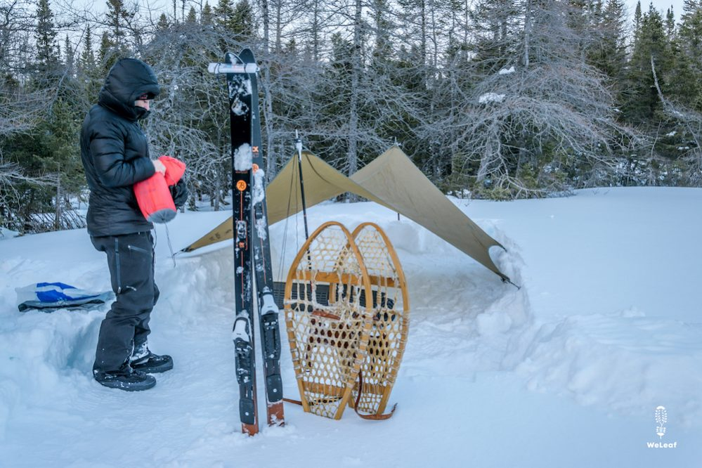 How to camp in extreme cold
