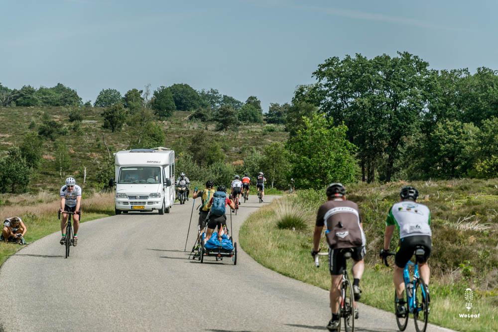 fietsen op de holterberg