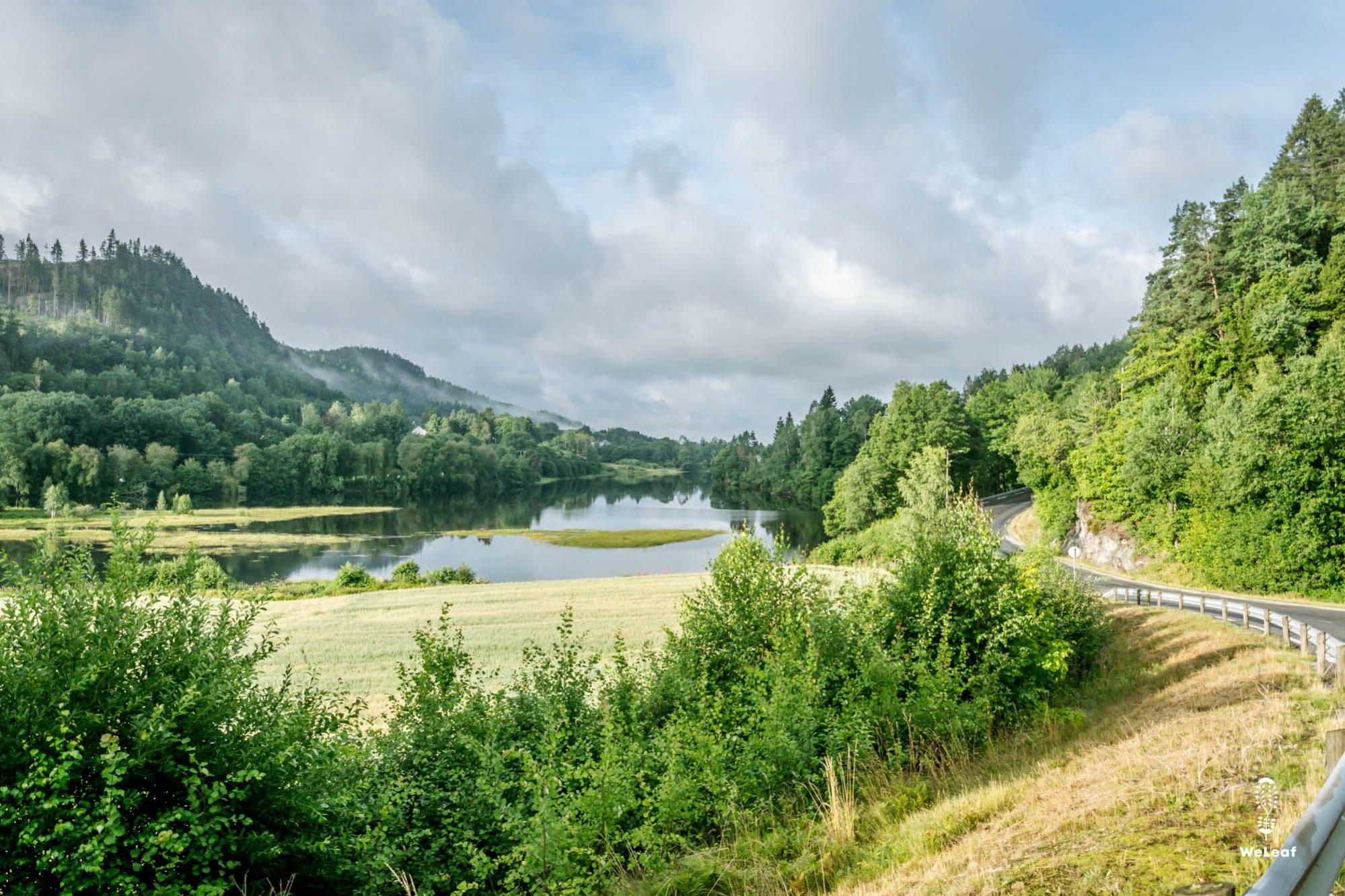 Fietsen in Zuid-Noorwegen