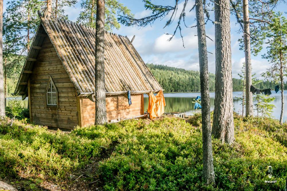 Pilgrimskapellet Dalarna huts in Sweden