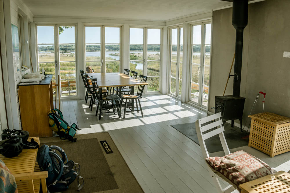 cosy cabin in Sweden