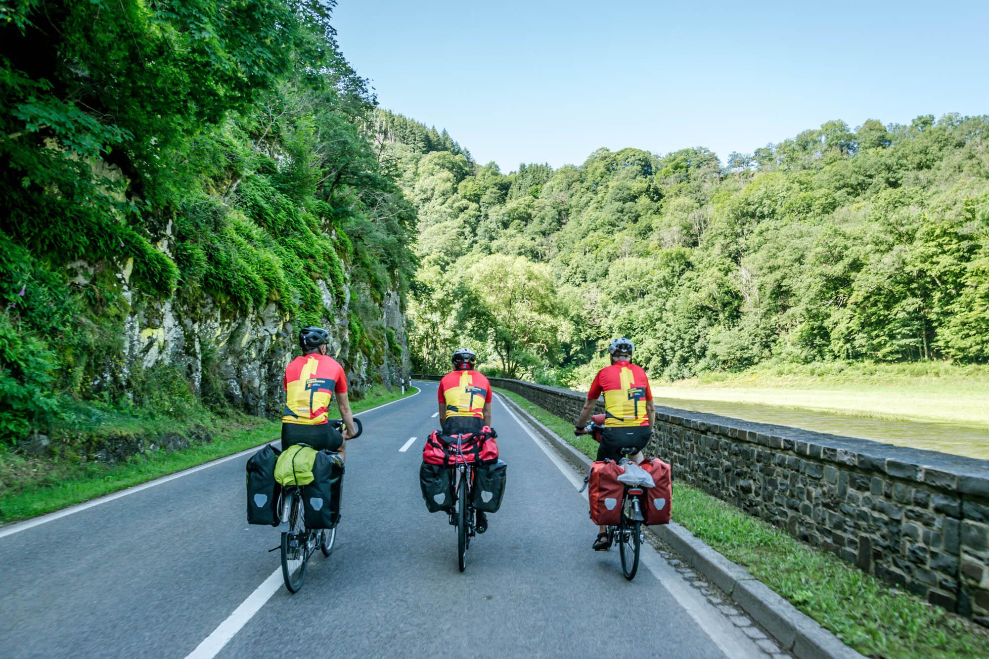 fietsen naar Zuid-Frankrijk