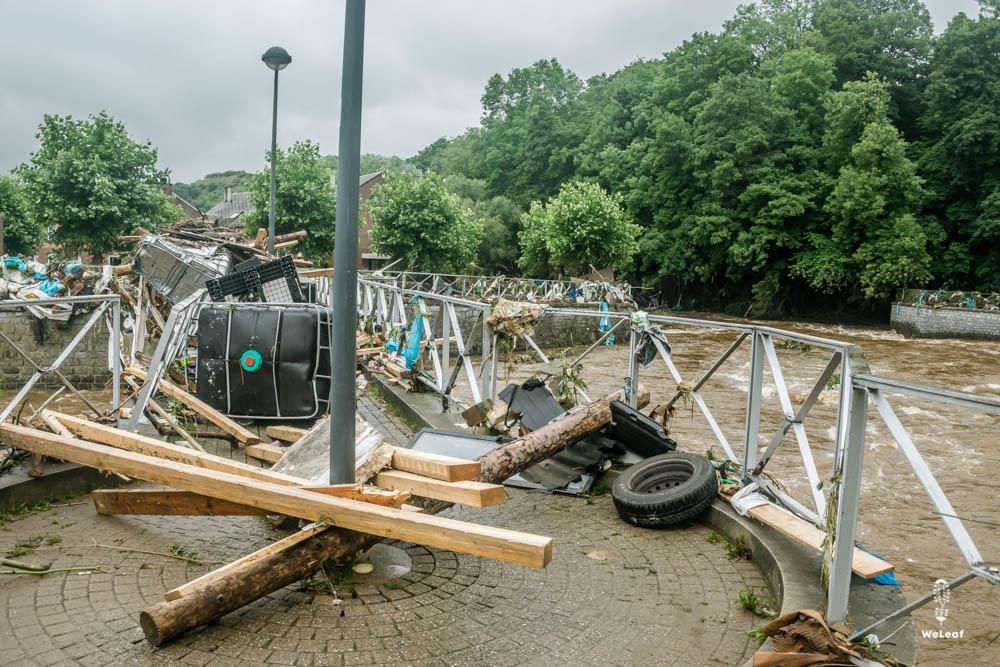 overstromingen Wallonie juli